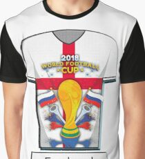 World Cup 2018 Group G England Graphic T-Shirt