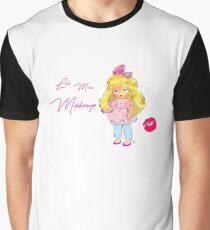 Lil Miss Makeup Graphic T-Shirt