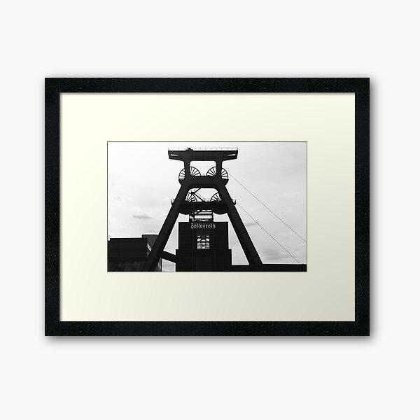 Zollverein ... Essen Framed Art Print