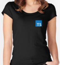 Typescript (TypescriptJS) Women's Fitted Scoop T-Shirt