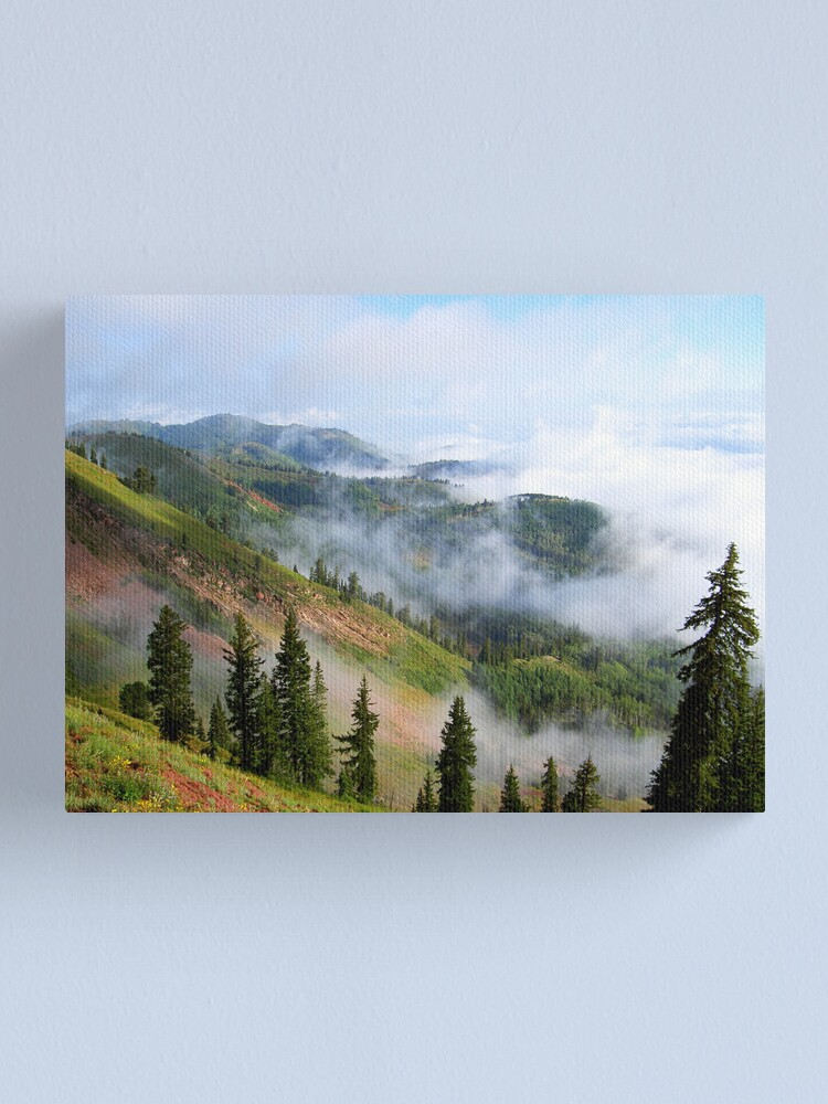 Alternate view of Here comes the day Canvas Print