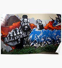 carlton Graffiti Poster