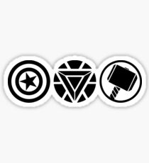 Heroes Trinity Sticker
