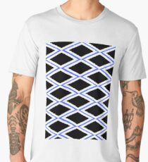 ROBUST PATTERN, black, blue Men's Premium T-Shirt