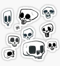 Skull boys Sticker
