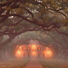 Oak Alley Plantation by Jeffrey S. Rease