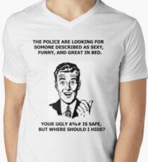 Funny Sarcastic Retro Shirt Tees Humor Men's V-Neck T-Shirt