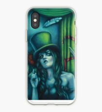 Judgement - Juggling Circus Woman in Top Hat iPhone Case