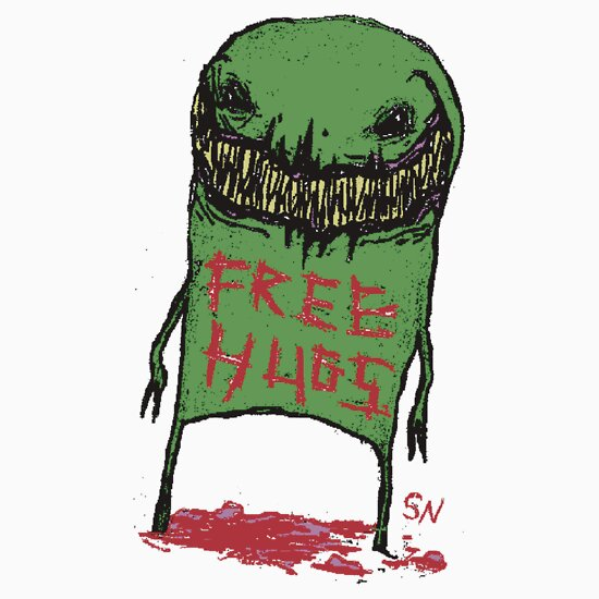 TShirtGifter presents: FREE.....hugs?