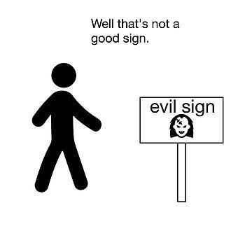 funny novelty humor nerdy shirt sign by artbyjane
