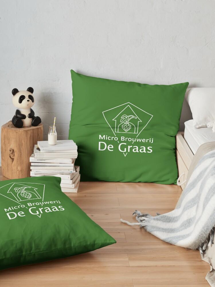 Alternate view of Micro Brouwerij De Graas Floor Pillow