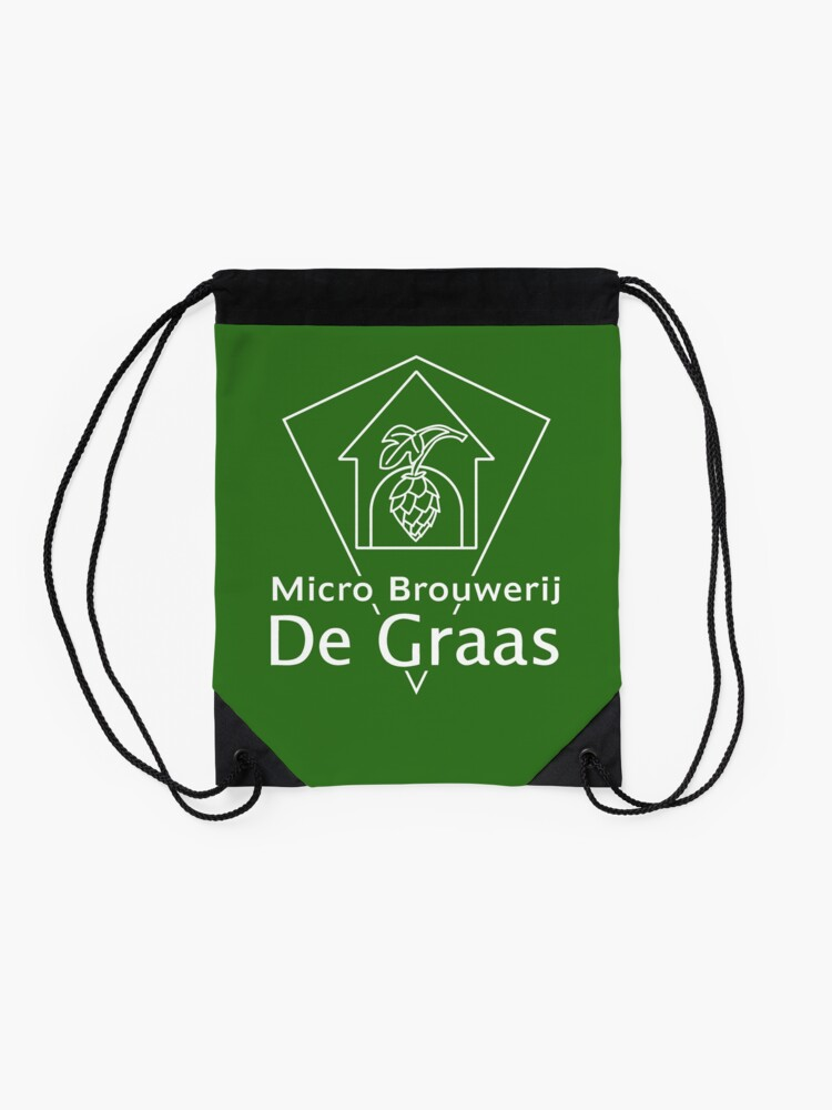 Alternate view of Micro Brouwerij De Graas Drawstring Bag