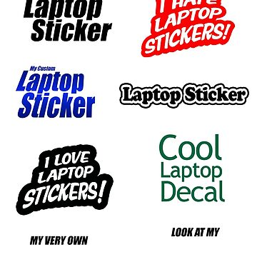 Laptop decal sticker funny weird by Pixelmatrix