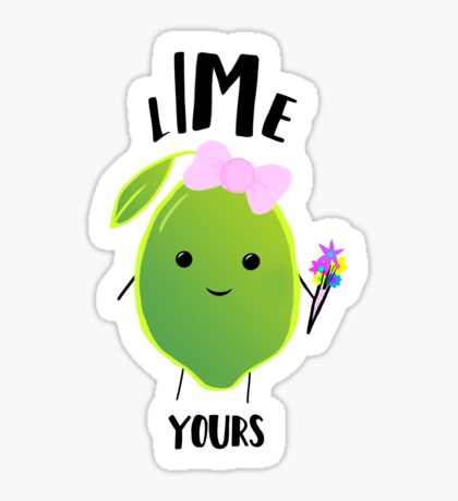 LIME yours Sticker