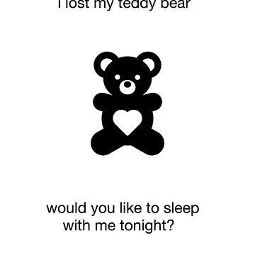 funny novelty sex joke cute teddy bear humor by artbyjane