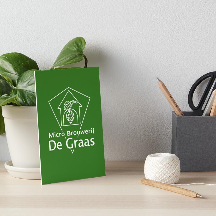 Micro Brouwerij De Graas Art Board Print
