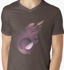 Gastly pokemon design Men's V-Neck T-Shirt