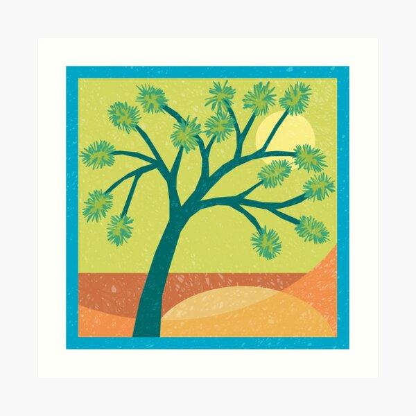 Joshua Tree - Desert Sand Art Print