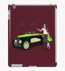 Steampunk Angel iPad Case/Skin
