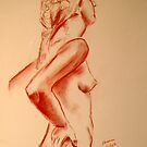 Another 10 minute life drawing by Lynda Robinson