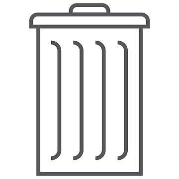 Garbage Can Label by type5