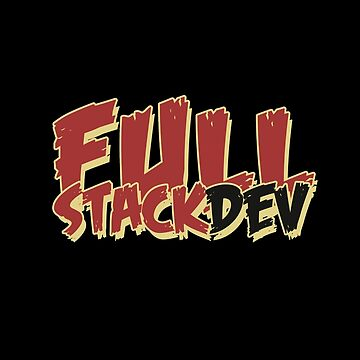Full stack developer by dmcloth