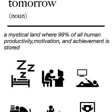 funny productivity humor novelty shirt definition dictionary by artbyjane