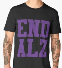 End ALZ Alzheimer's Men's Premium T-Shirt
