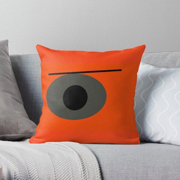 Angry Eye Throw Pillow