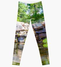 Colorful Cascades Leggings