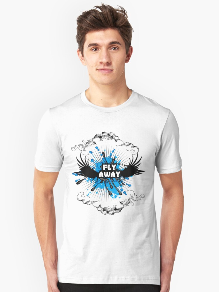 Fly Away Unisex T-Shirt Front