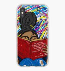 Head In The Books iPhone Case