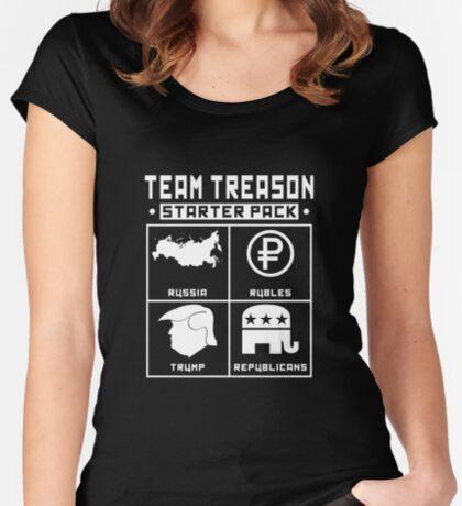 Team Treason Starter Pack Women's Fitted Scoop T-Shirt