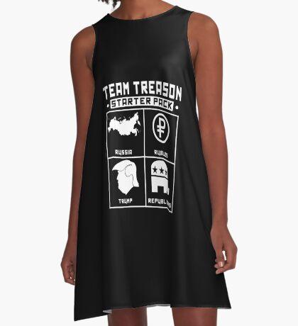 Team Treason Starter Pack A-Line Dress