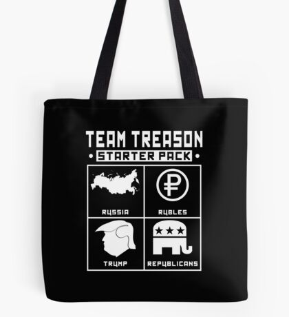 Team Treason Starter Pack Tote Bag
