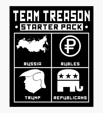 Team Treason Starter Pack Photographic Print