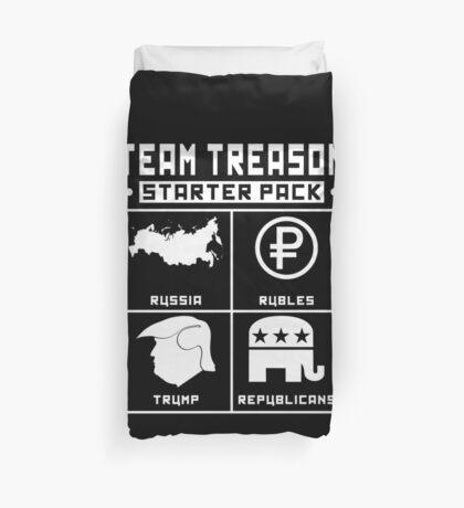 Team Treason Starter Pack Duvet Cover