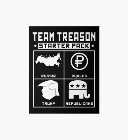 Team Treason Starter Pack Art Board