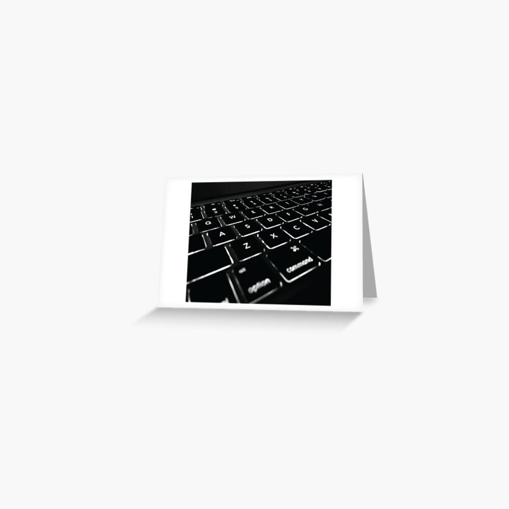 COMPUTER DISPLAY Pop Art Greeting Card