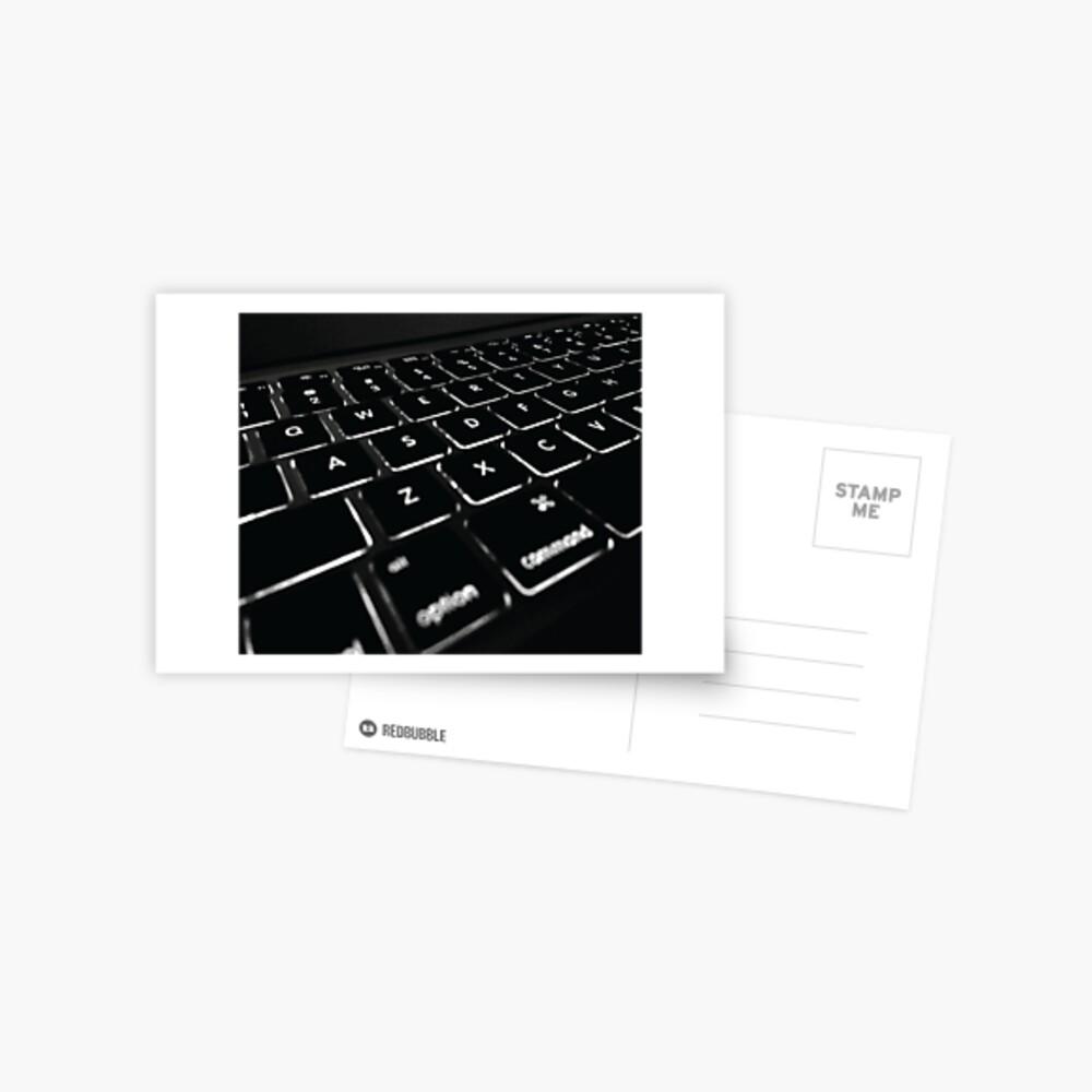 COMPUTER DISPLAY Pop Art Postcard