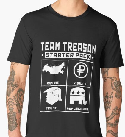 Team Treason Starter Pack Men's Premium T-Shirt