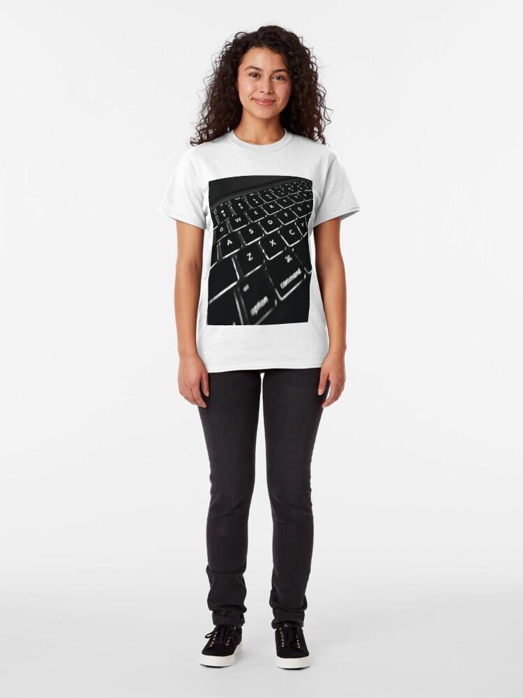 Alternate view of COMPUTER DISPLAY Pop Art Classic T-Shirt