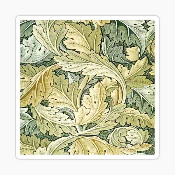William Morris,Jugendstil, Original,Agathus,wallpaper.vintage,belle poque,elegant,chic,beautiful,pattern Sticker