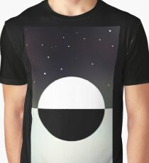 The Black And White Sunrise Graphic T-Shirt