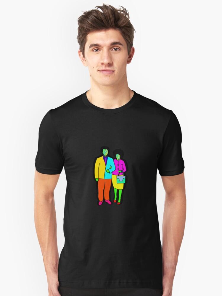 colors  Unisex T-Shirt Front