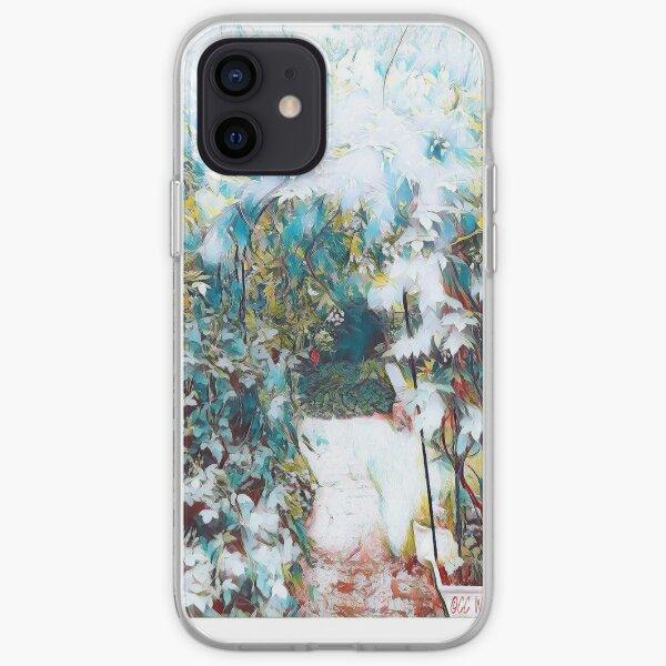 Hazy Garden Entry iPhone Soft Case