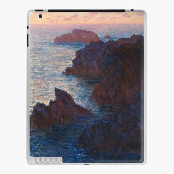 Rocks at Belle-lle, Port-Domois by Claude Monet iPad Skin