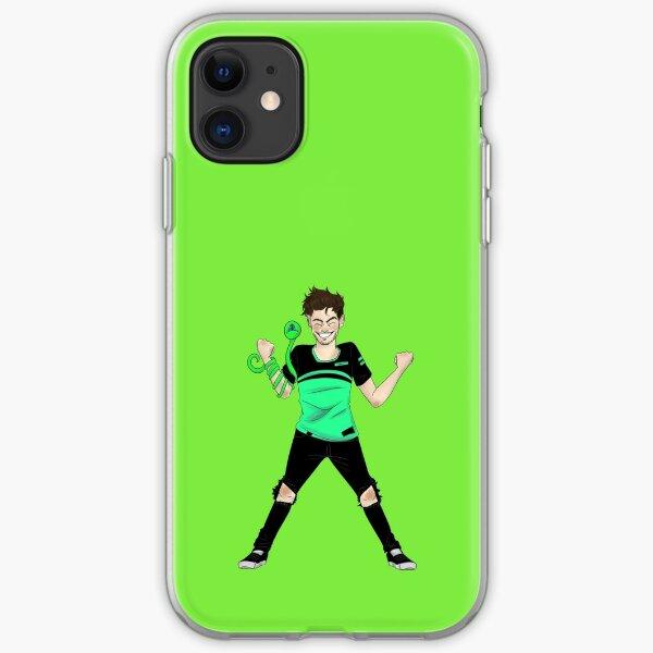Jack 19 million sub drawing iPhone Soft Case