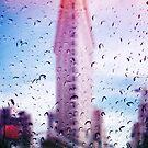 Rainy days in New York - The Flatiron  by Serge Averbukh