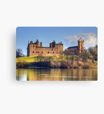 Palace and Church Canvas Print